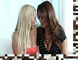 hot mom and girl lesbian